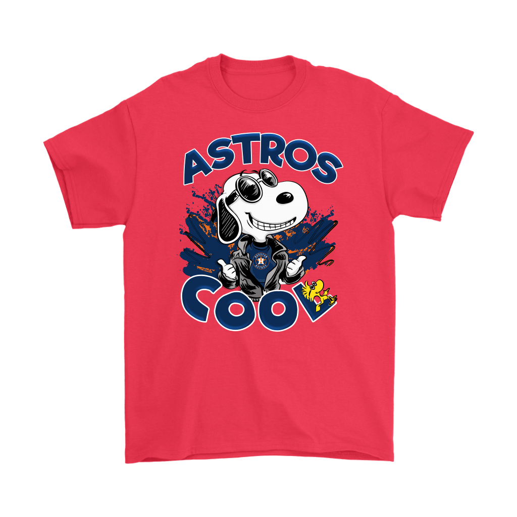 Houston Astros Snoopy Joe Cool We're Awesome Shirts 5