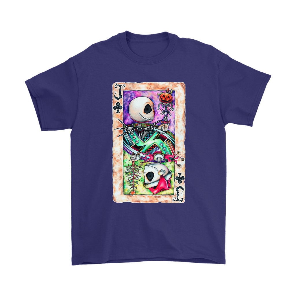 Jack Skellington Jack Card Of Club Halloween Shirts 4