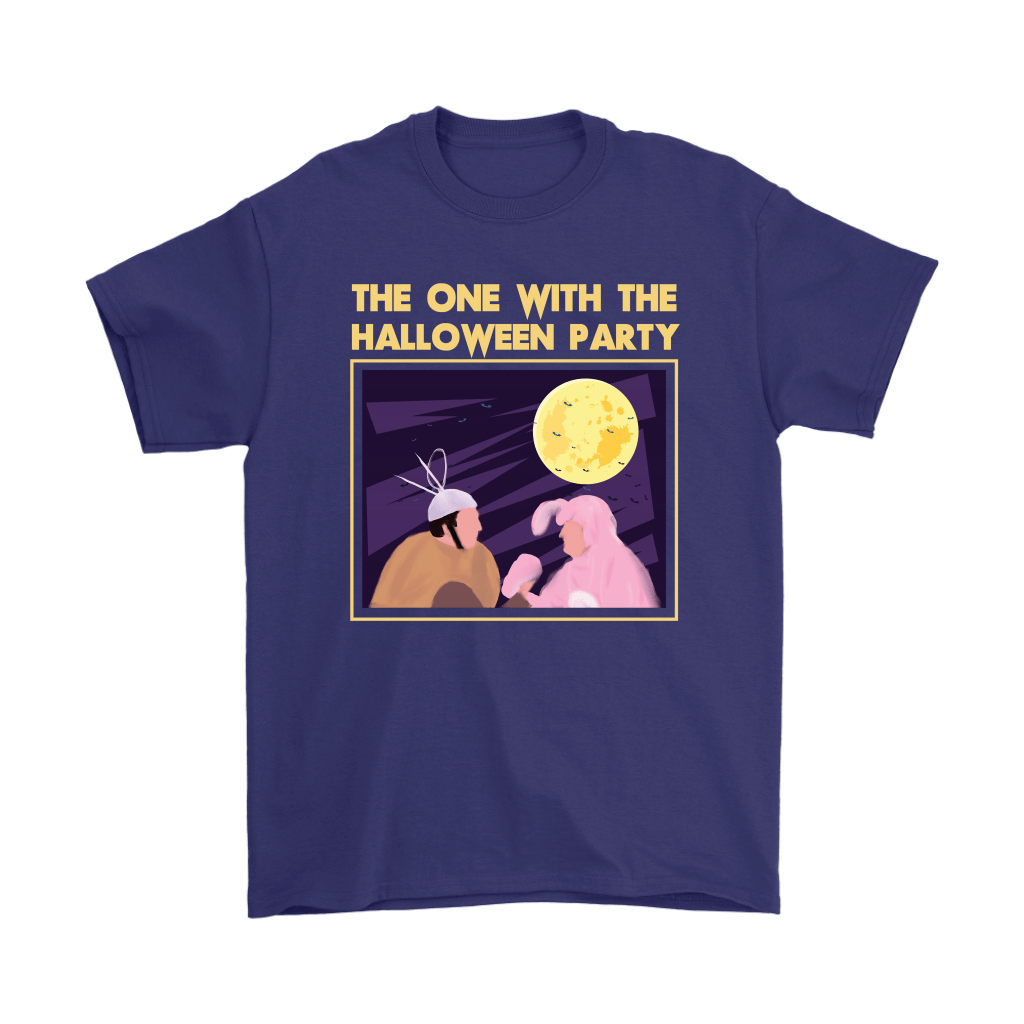 Ross And Chandler The One With The Halloween Party FRIENDS Shirts 4