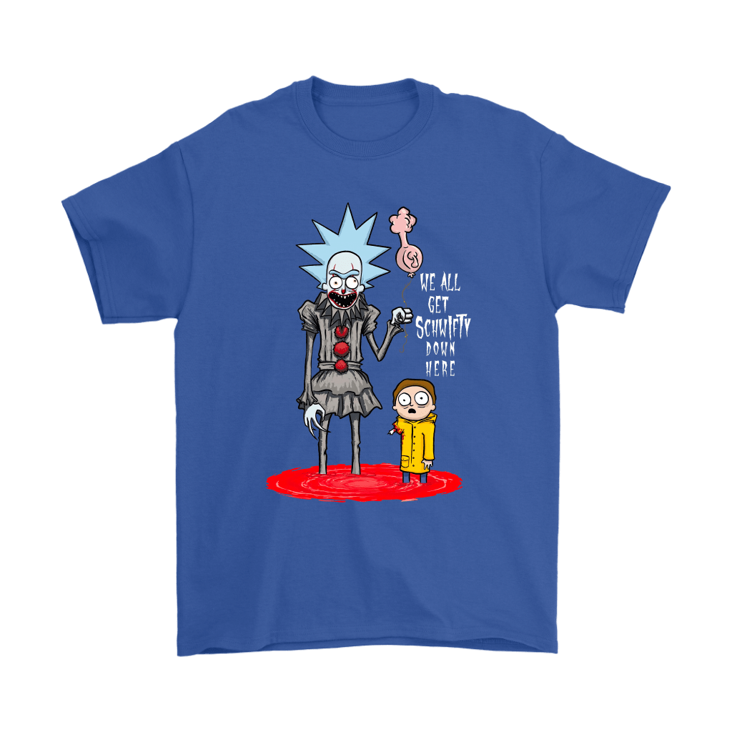 Rick And Morty Pennywise Horror Mashup Shirts 5