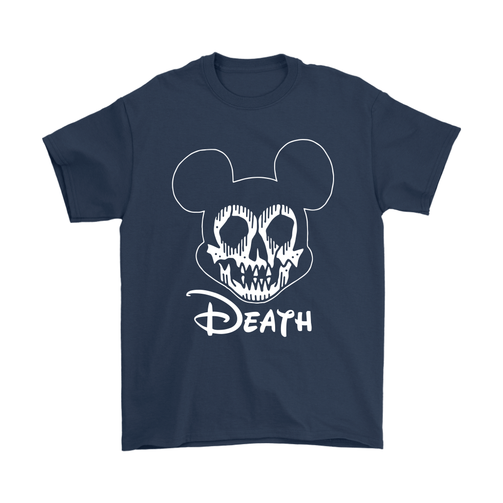 Disney Mickey Mouse Logo Death Mouse Metalhead Shirts 3