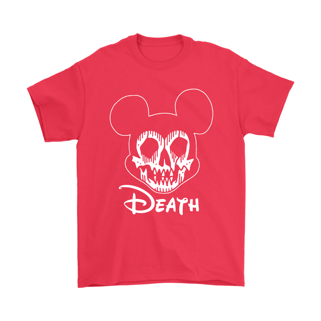 Disney Mickey Mouse Logo Death Mouse Metalhead Shirts 16