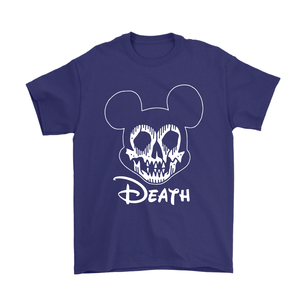 Disney Mickey Mouse Logo Death Mouse Metalhead Shirts 15