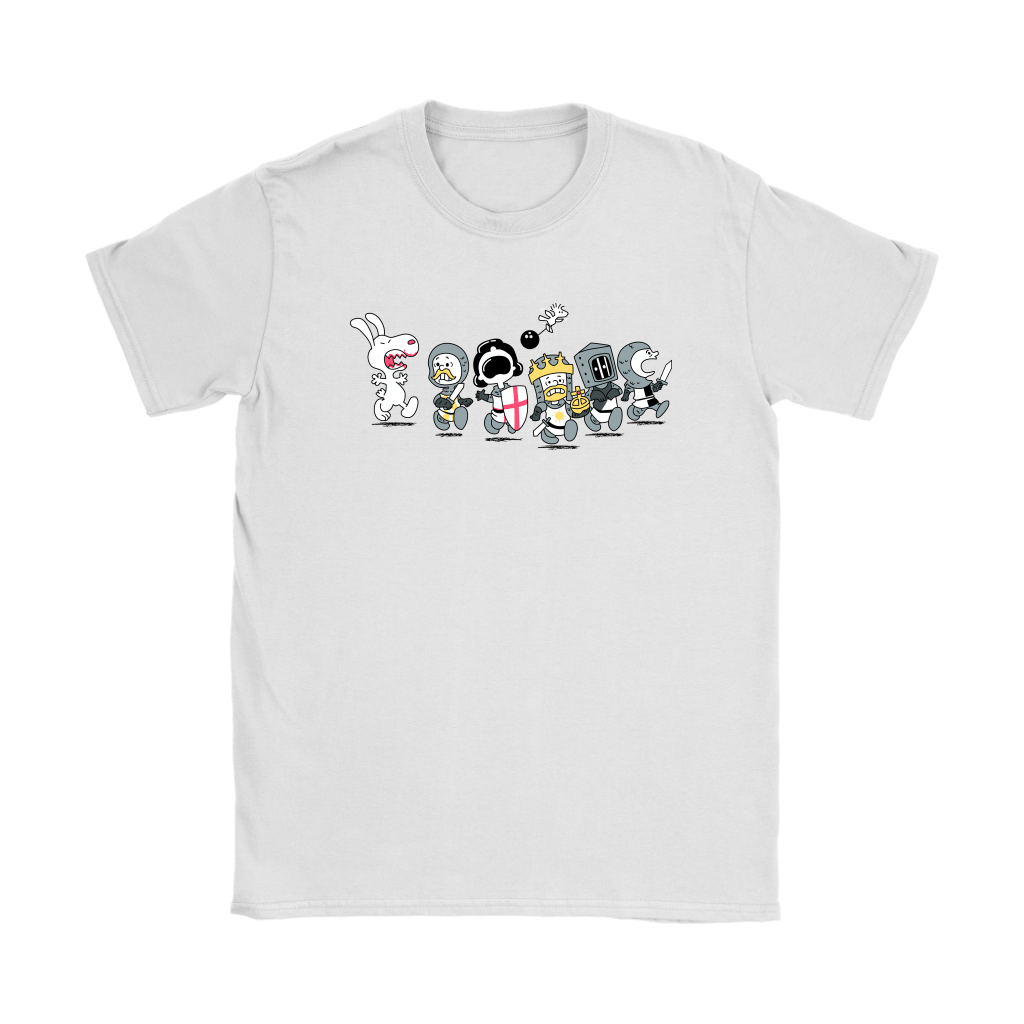 The Killer Rabbit of Caerbannog Monty Python Snoopy Shirts 8