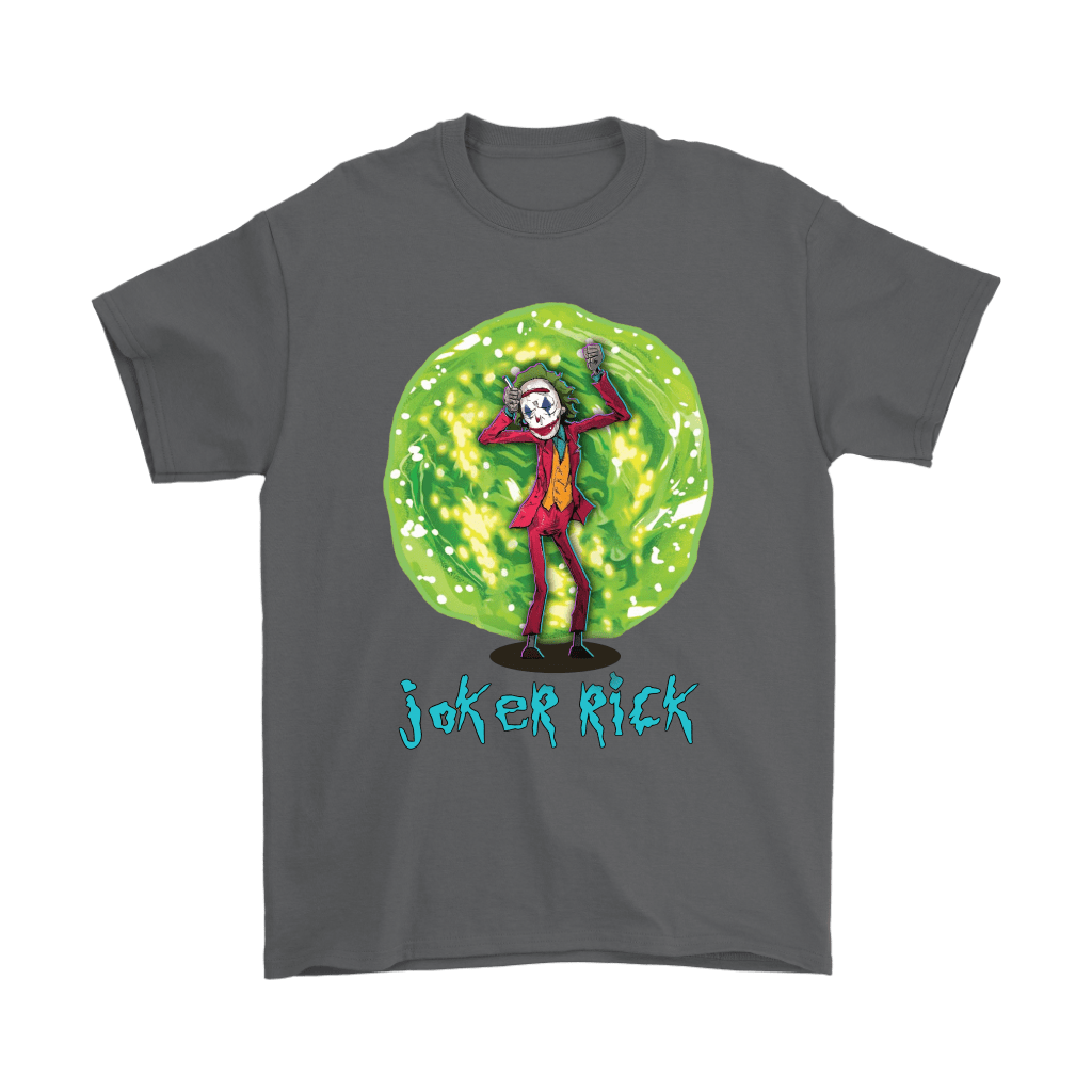Joker Rick Joaquin Phoenix Joker Rick And Morty Shirts 11