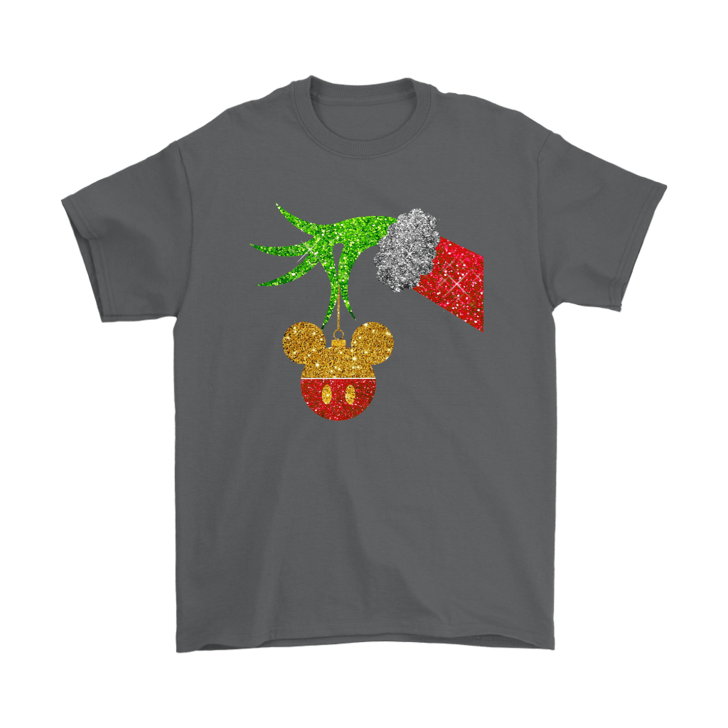 The Grinch Steals Christmas Mickey Mouse Shirts 2