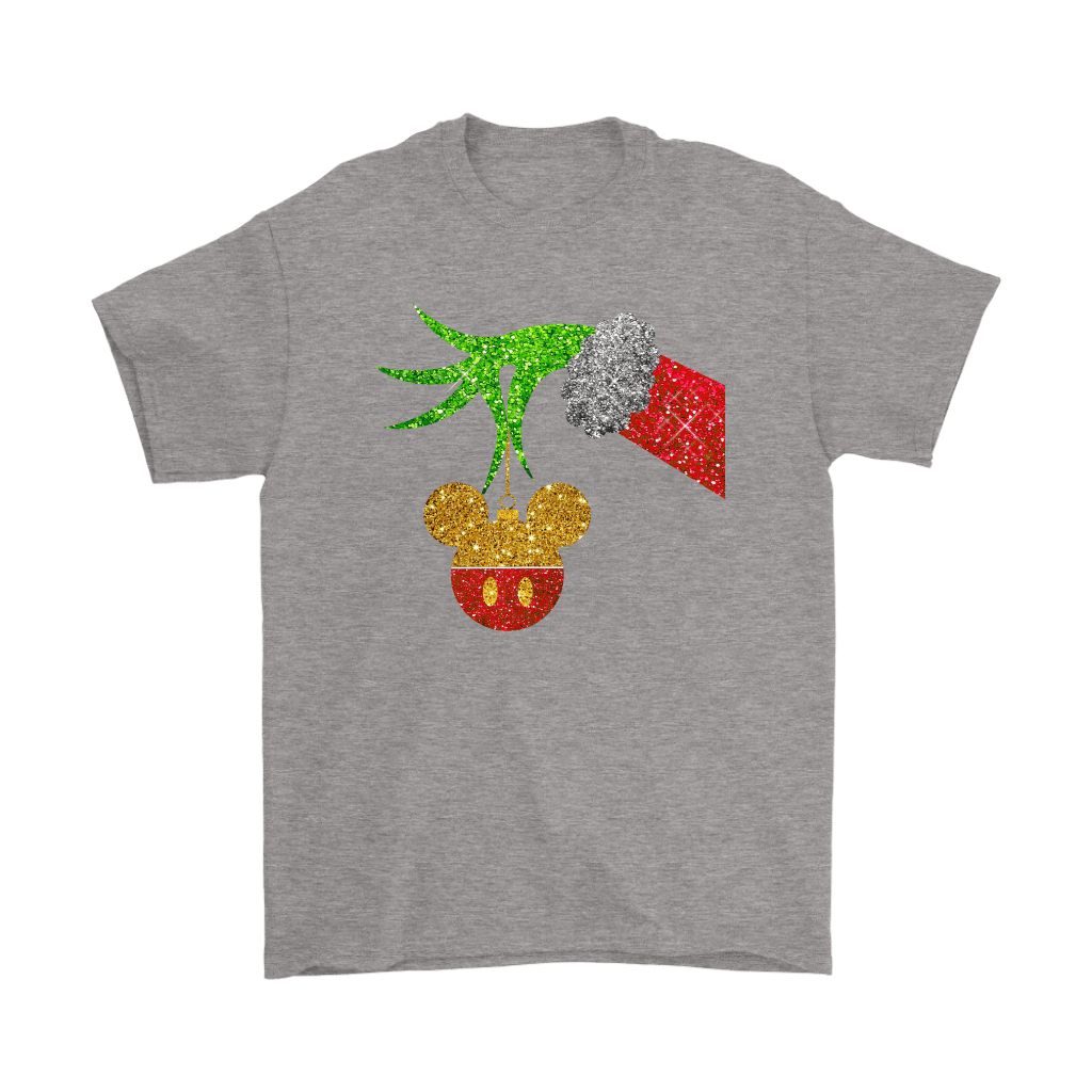 The Grinch Steals Christmas Mickey Mouse Shirts 6