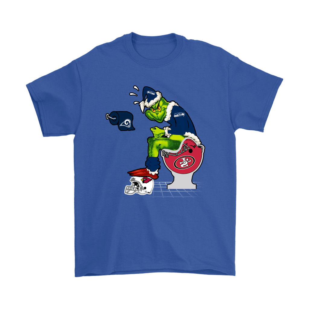 The Grinch Seattle Seahawks Shit On Other Teams Christmas Shirts 18