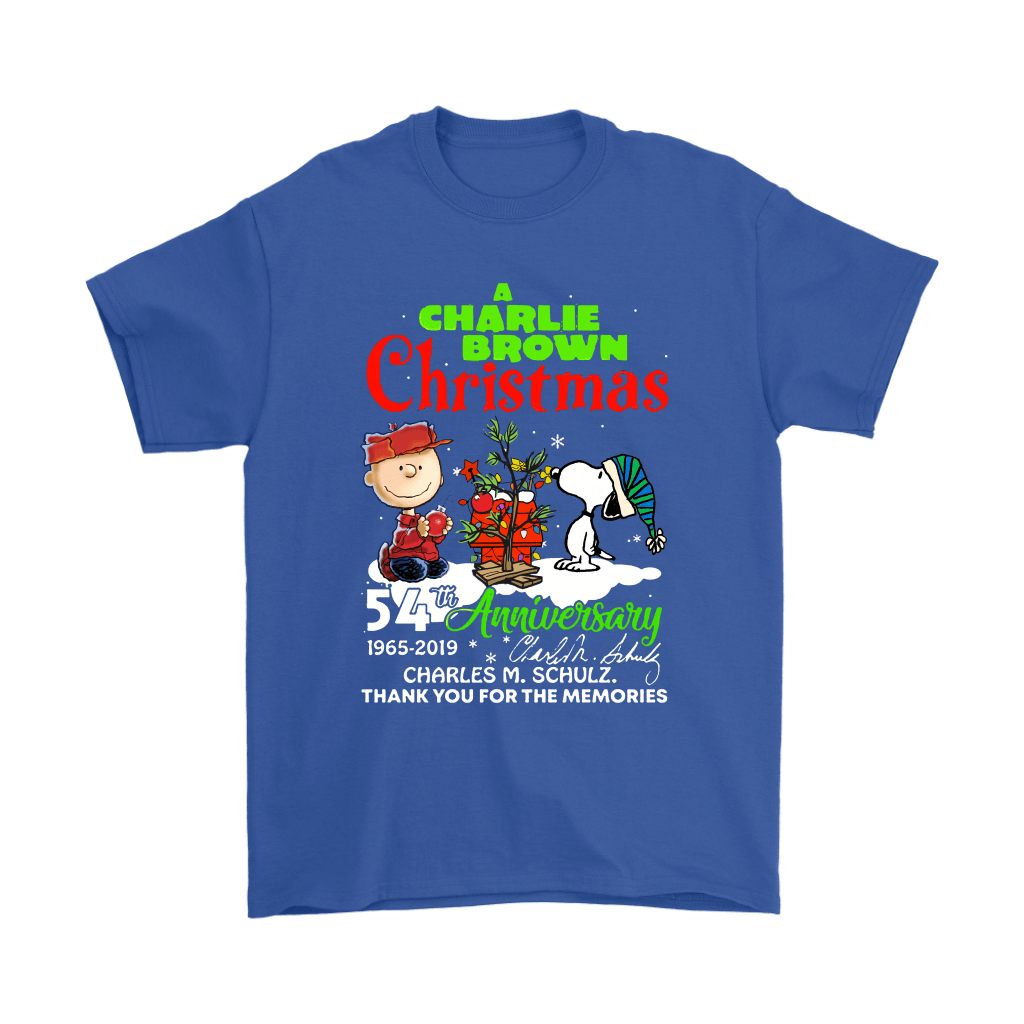 A Charlie Brown Christmas 54th Anniversary Snoopy Shirts 5