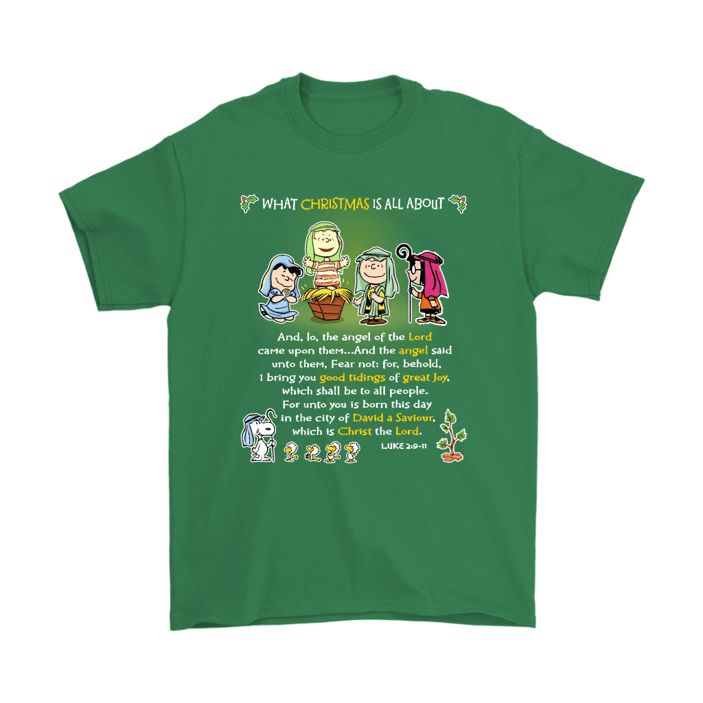 Snoopy What Christmas Is All About Charlie Brown Shirts 7