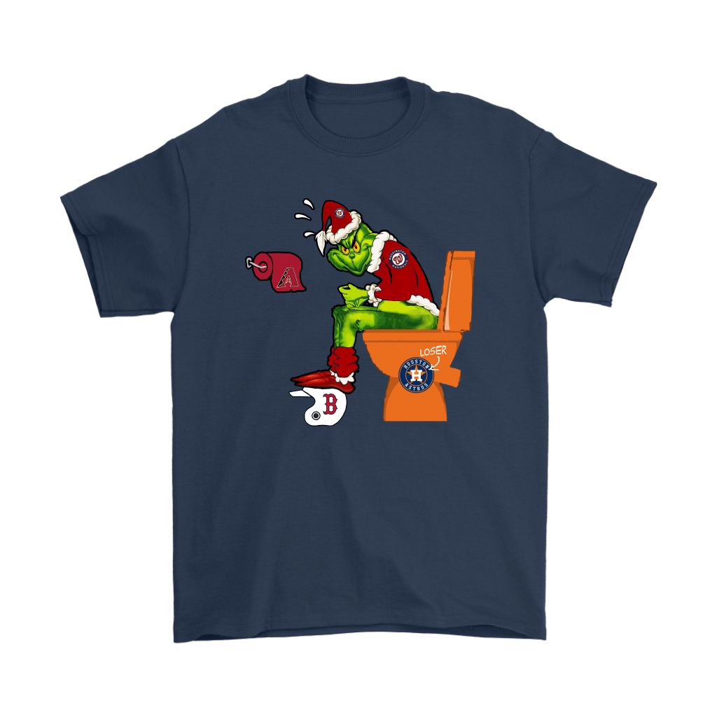 The Grinch Washington Nationals Shit On Other Teams MLB Shirts 3