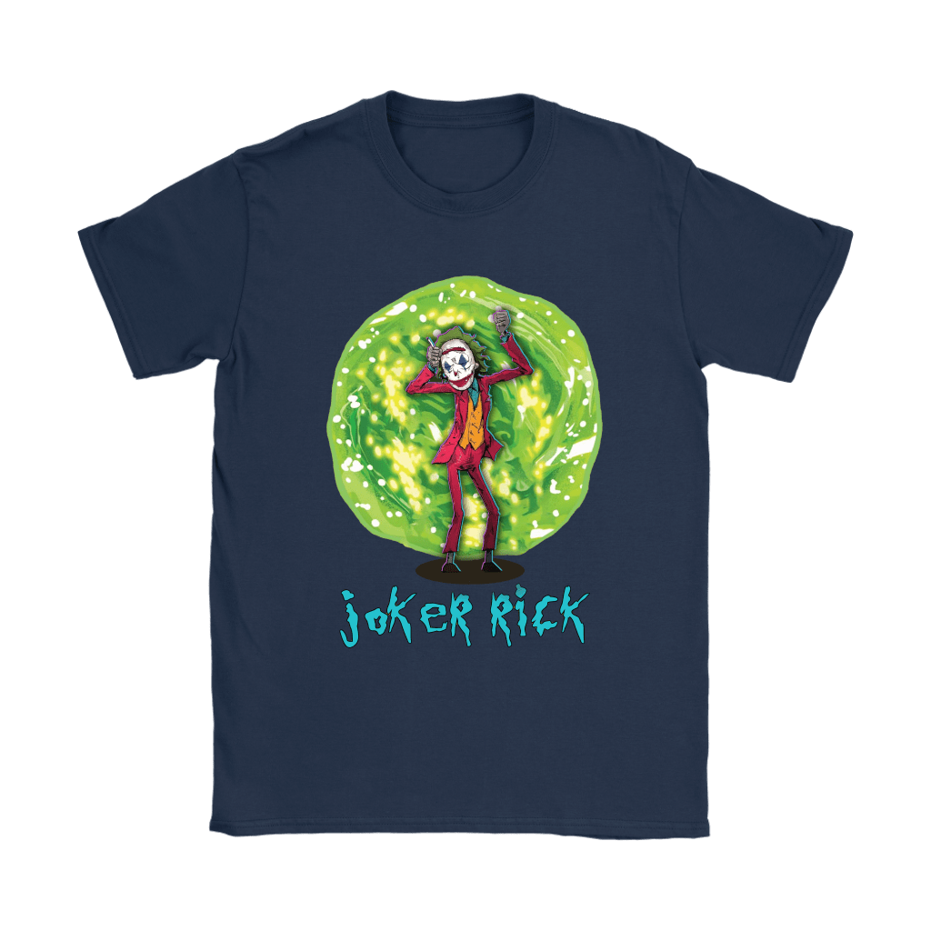 Joker Rick Joaquin Phoenix Joker Rick And Morty Shirts 8