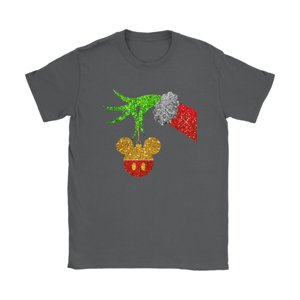 The Grinch Steals Christmas Mickey Mouse Shirts 9