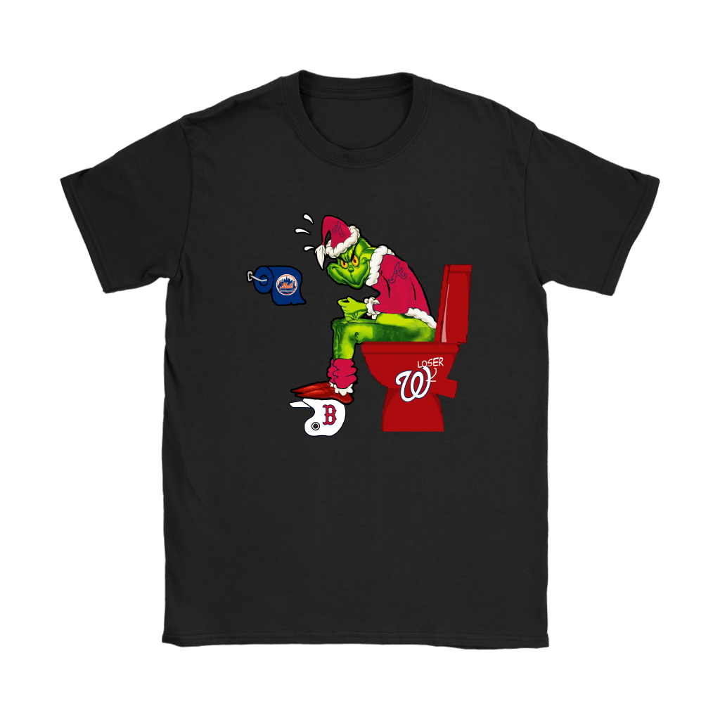 The Grinch Atlanta Braves Shit On Other Teams MLB Shirts 8