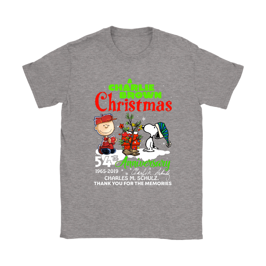 A Charlie Brown Christmas 54th Anniversary Snoopy Shirts 12