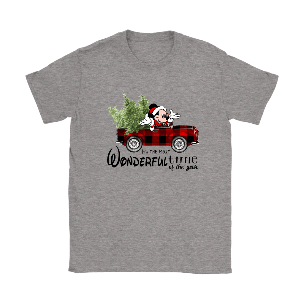 It's The Most Wonderful Time Of The Year Mickey Christmas Shirts 3