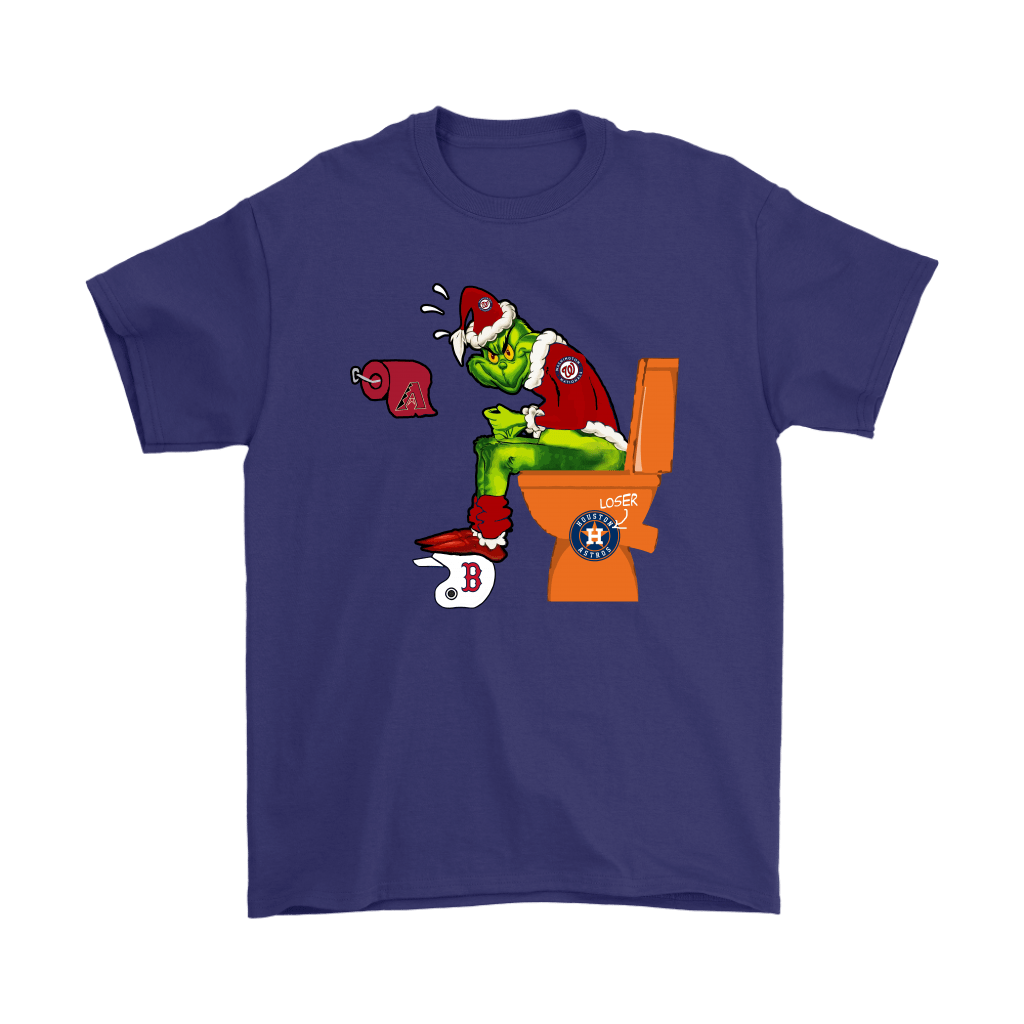 The Grinch Washington Nationals Shit On Other Teams MLB Shirts 4