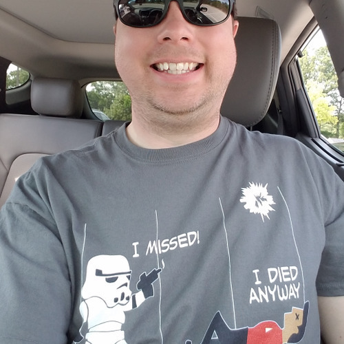 Star Wars Star Trek A Stormtrooper And A Redshirt In A Fight Shirts photo review