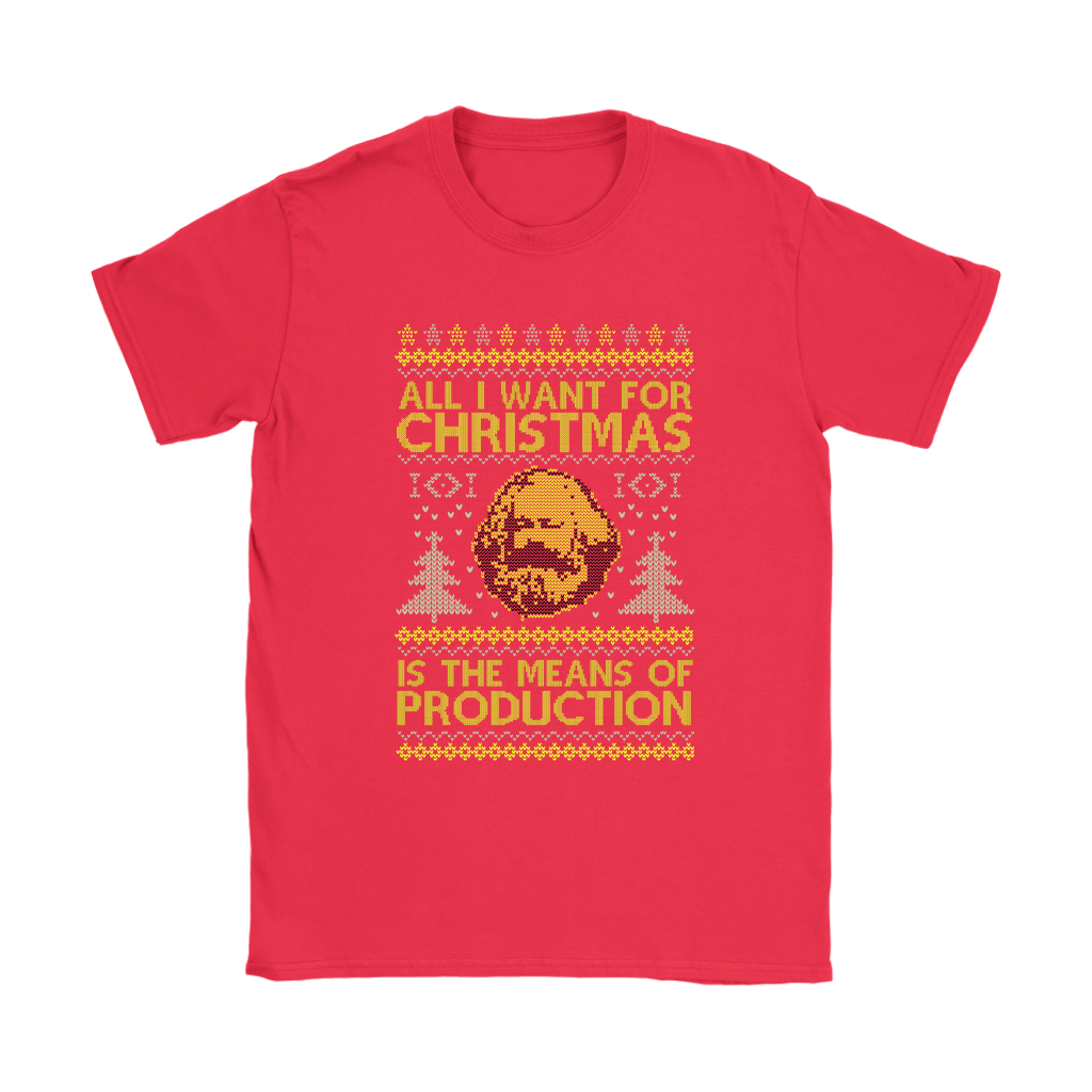 All I Want For Christmas Is The Means Of Production Marxism Shirts 12