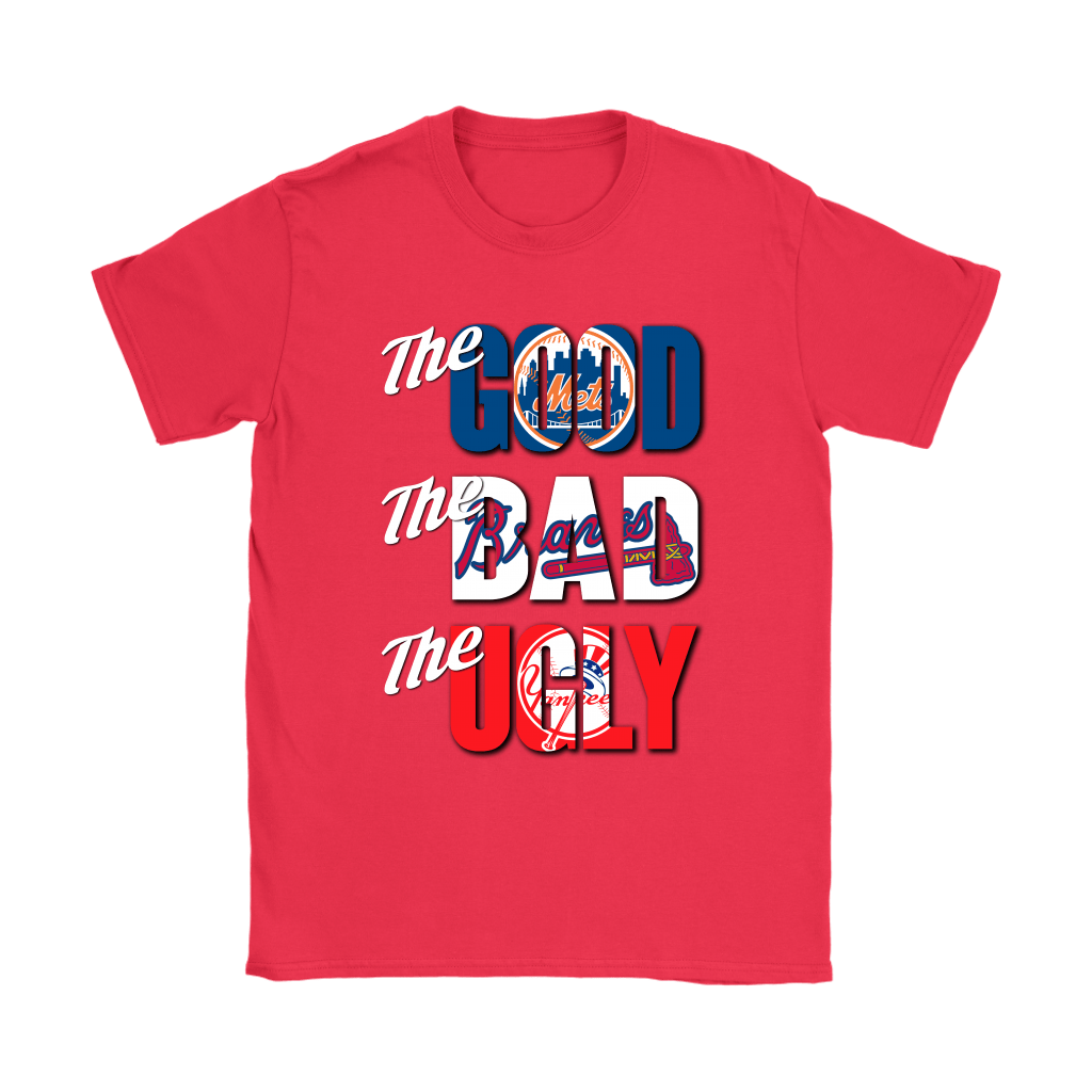 The Good The Bad The Ugly New York Mets Braves Yankees MLB Shirts 12