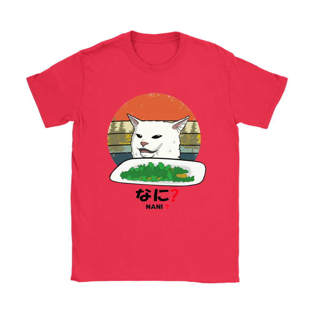 Smudge The Cat Eating Salad Meme Nani What Shirts 9