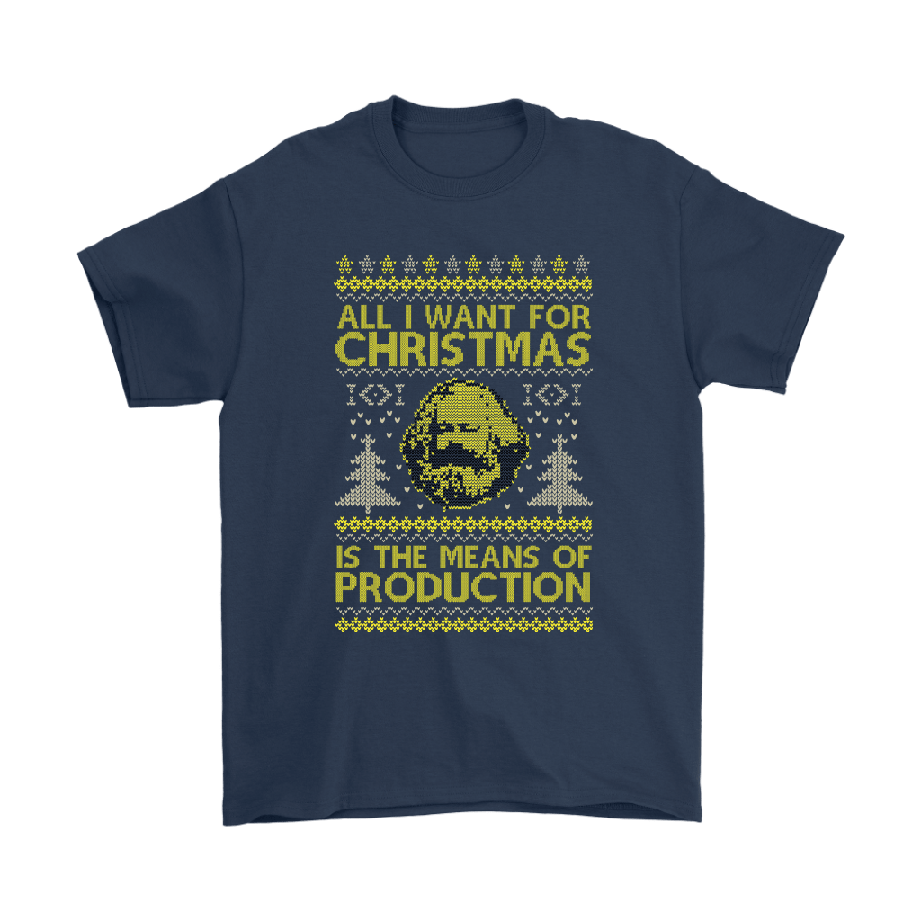 All I Want For Christmas Is The Means Of Production Marxism Shirts 3