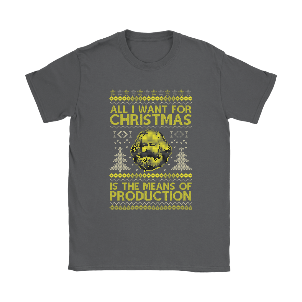 All I Want For Christmas Is The Means Of Production Marxism Shirts 9