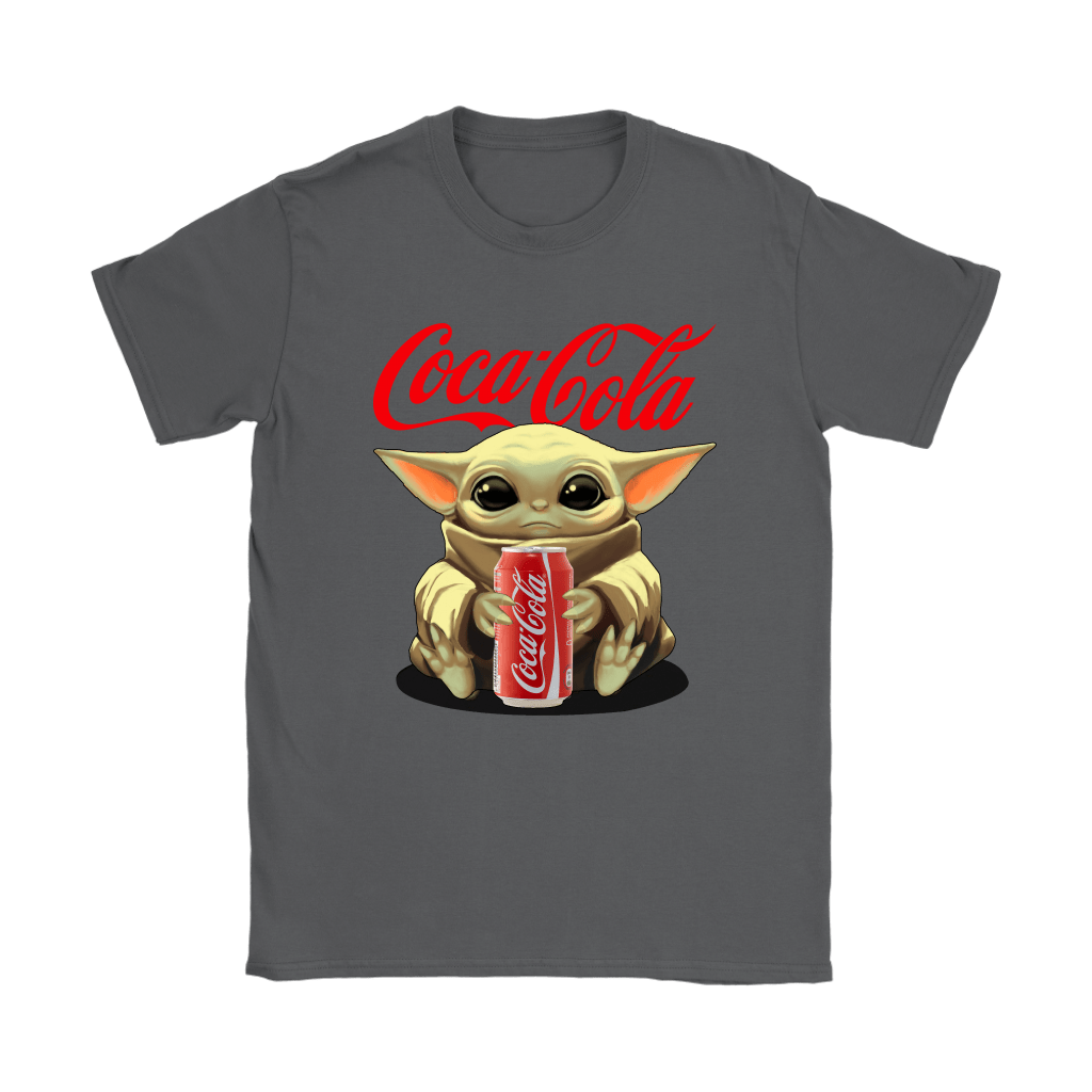 Baby Yoda Hugs Coca Cola Can Star Wars Shirts 9