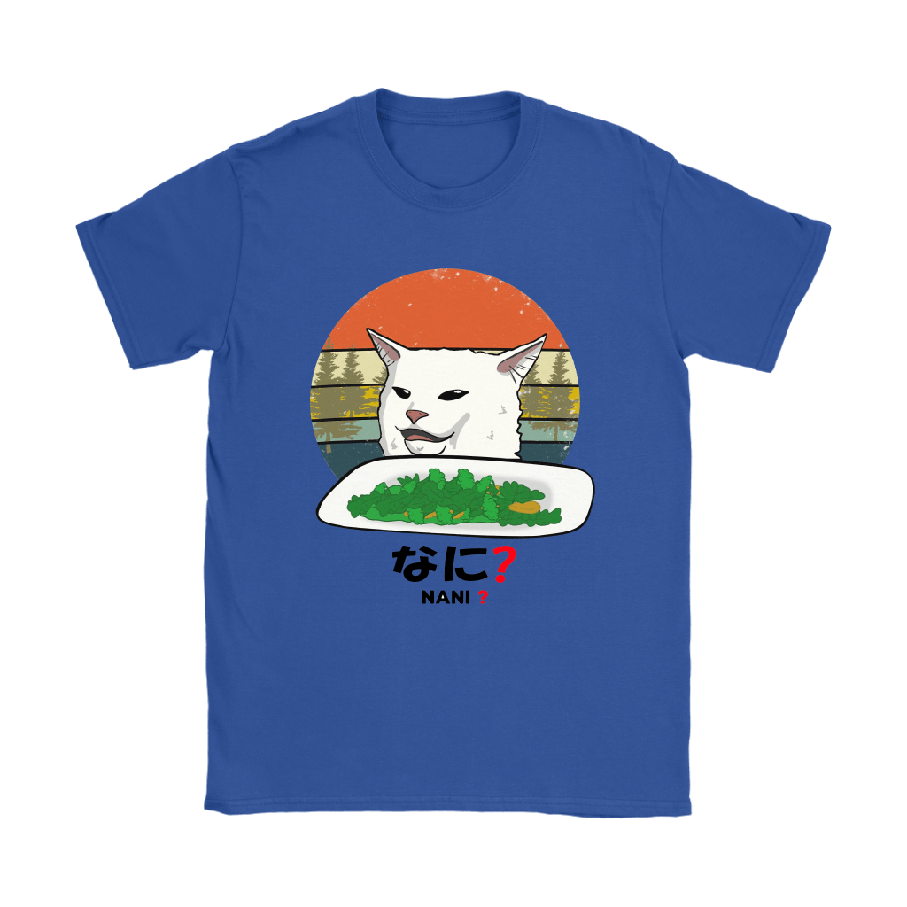 Smudge The Cat Eating Salad Meme Nani What Shirts 10