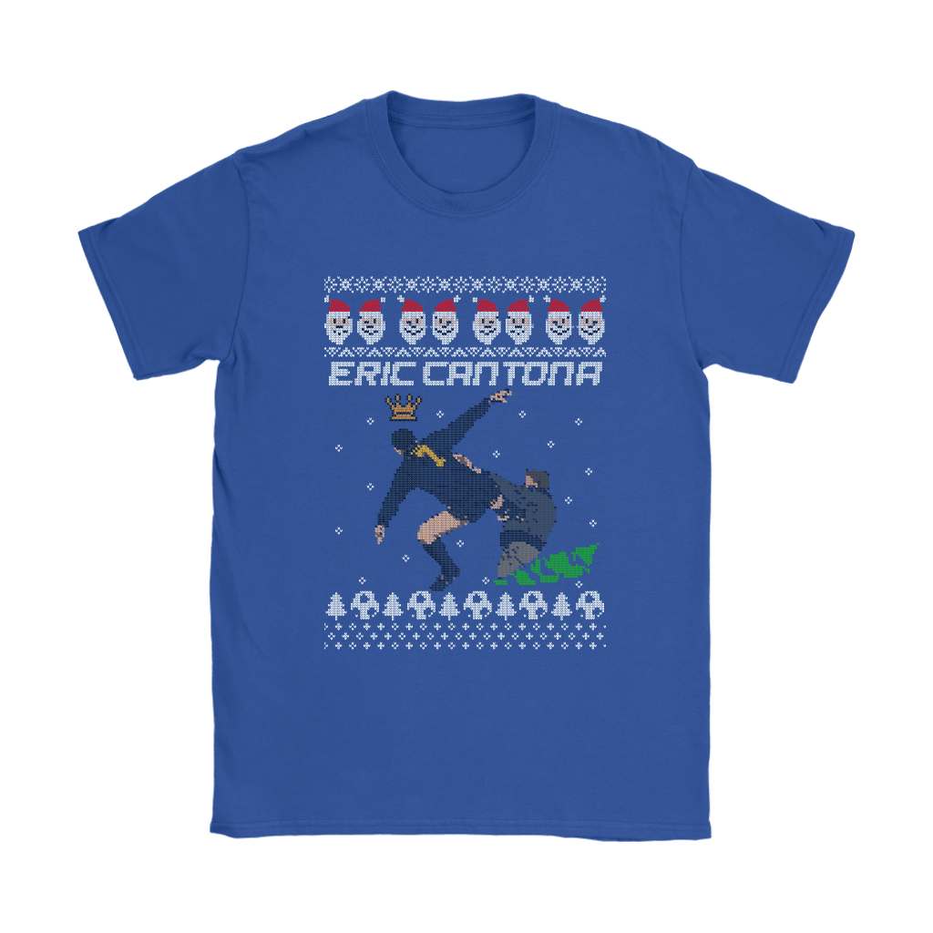 Eric Cantona Kung Fu Kick Ugly Sweater Style Christmas Shirts 25