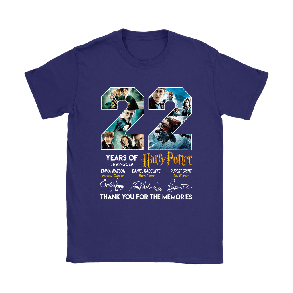 22 Years Of Harry Potter 1997 2019 Shirts 24