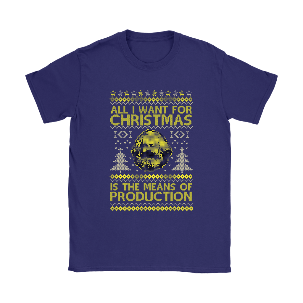 All I Want For Christmas Is The Means Of Production Marxism Shirts 11