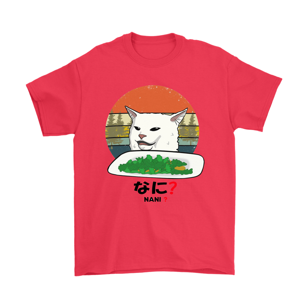 Smudge The Cat Eating Salad Meme Nani What Shirts 2