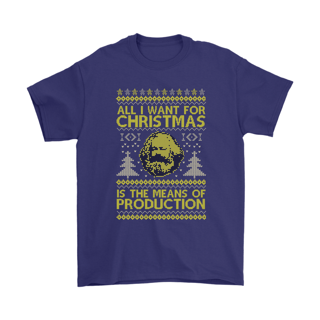 All I Want For Christmas Is The Means Of Production Marxism Shirts 4