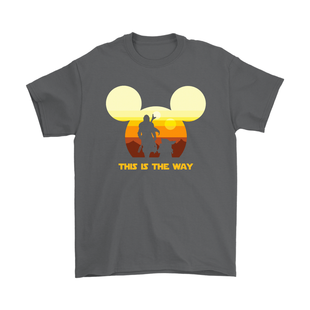 Disney Star Wars Baby Yoda The Mandalorian This Is The Way Shirts 11