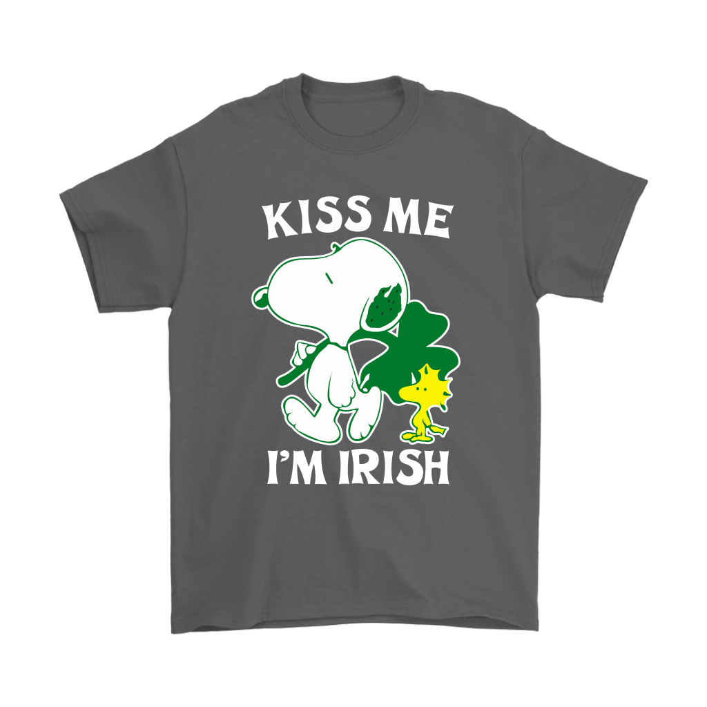 Snoopy And Woodstock Kiss Me I'm Irish St. Patrick's Day Shirts 2
