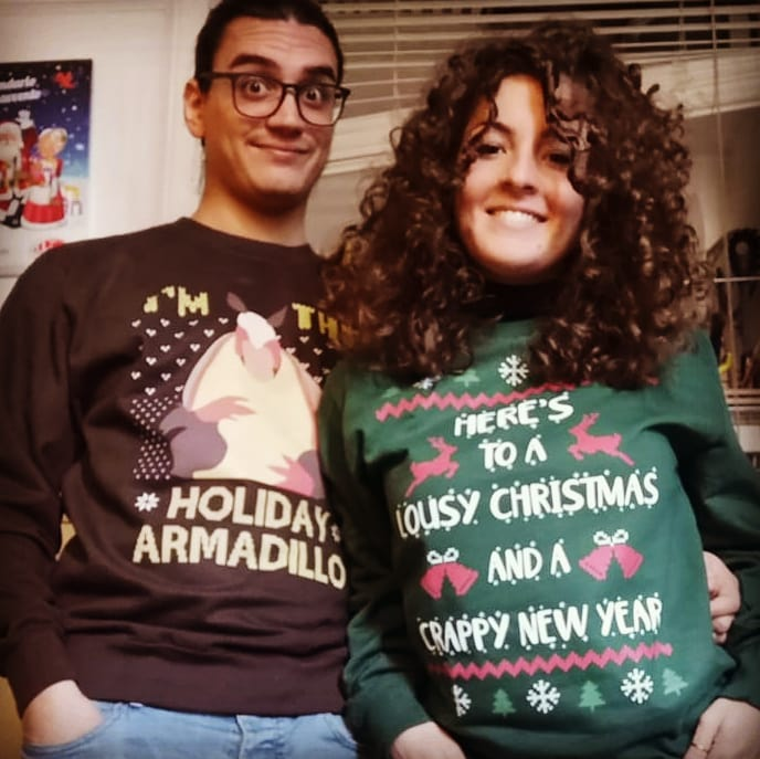 I'm The Holiday Armadillo F.R.I.E.N.D.S Christmas Holiday Shirts photo review