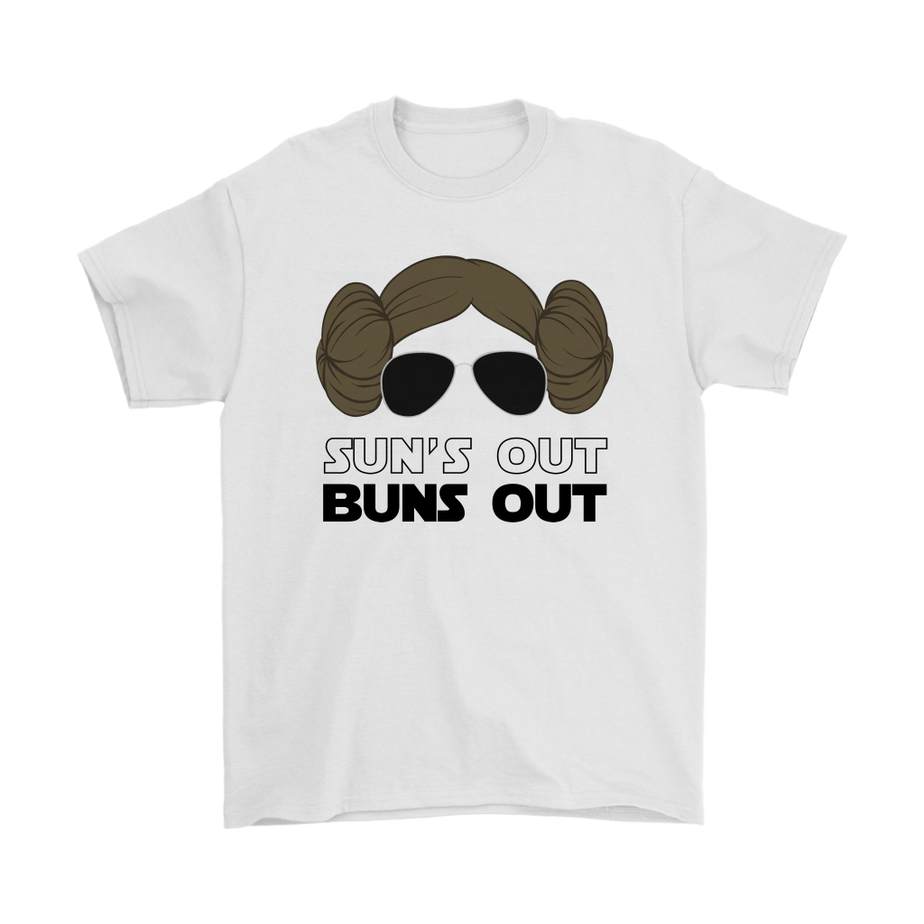Sun S Out Buns Out Princess Leia Star Wars Shirts Teextee Store