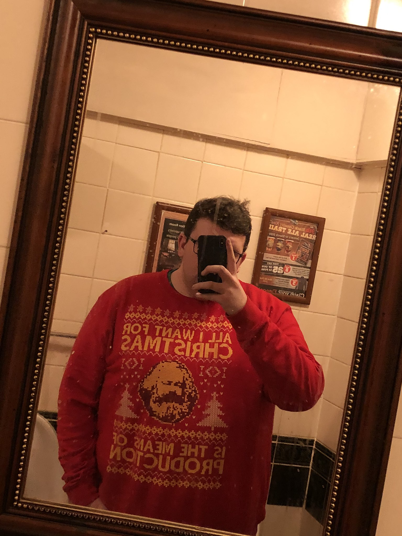 All I Want For Christmas Is The Means Of Production Marxism Shirts photo review