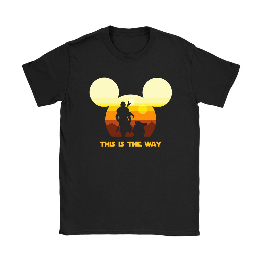 Disney Star Wars Baby Yoda The Mandalorian This Is The Way Shirts 15