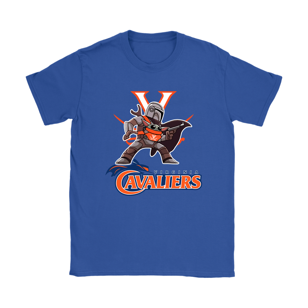 The Mandalorian & Baby Yoda Virginia Cavaliers NCAA Shirts 12