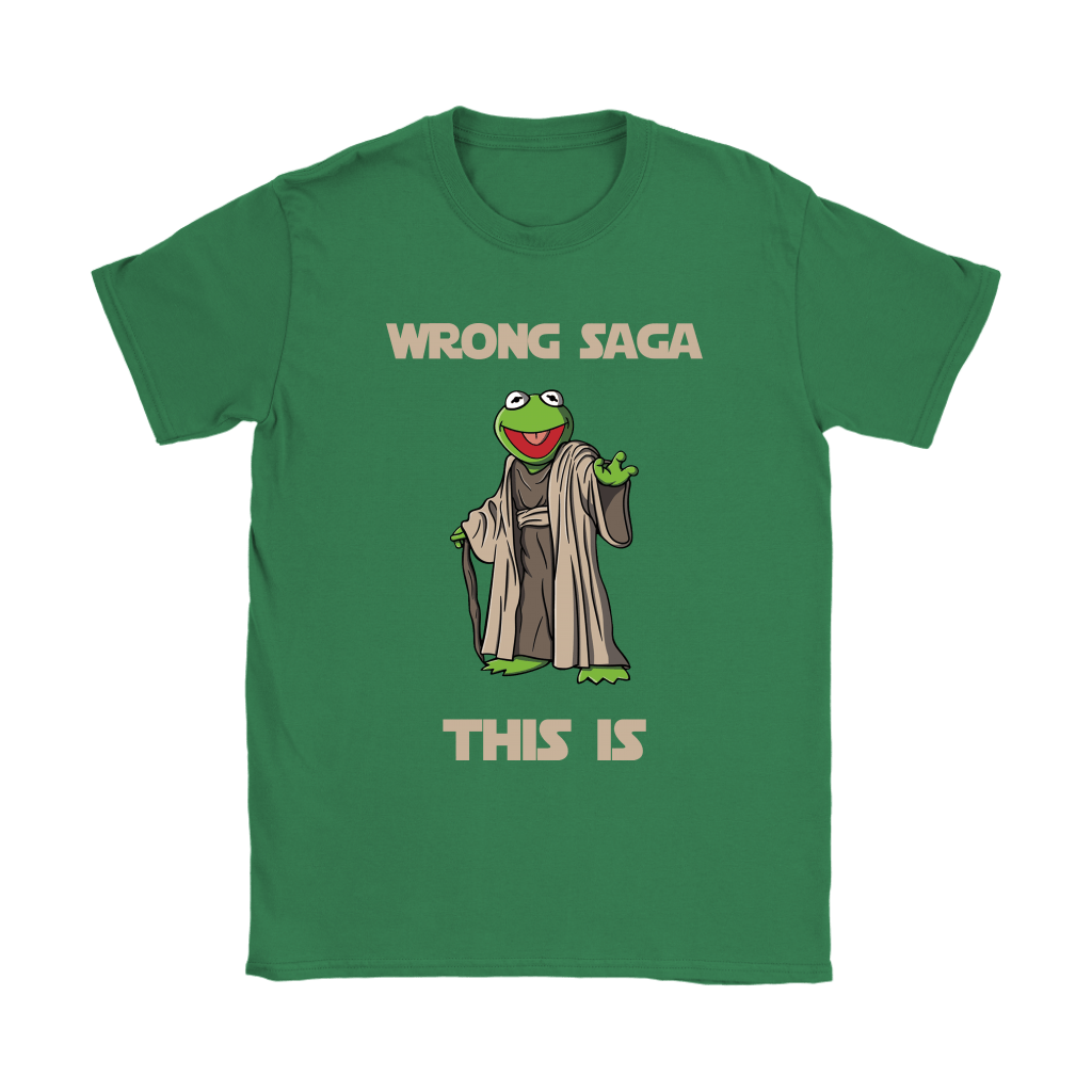 Star Wars Yoda Kermit The Frog Wrong Saga This Is Shirts 23