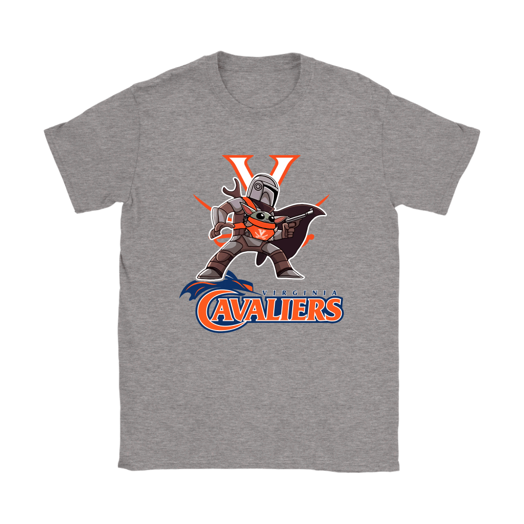 The Mandalorian & Baby Yoda Virginia Cavaliers NCAA Shirts 13