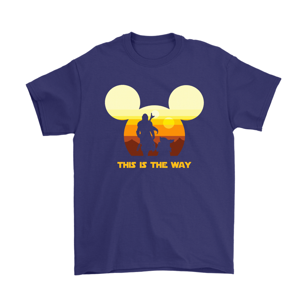 Disney Star Wars Baby Yoda The Mandalorian This Is The Way Shirts 4