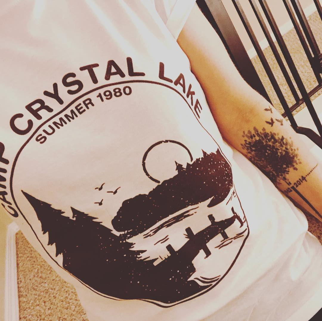 Camp Crystal Lake Summer 1980 Friday The 13th Shirts photo review