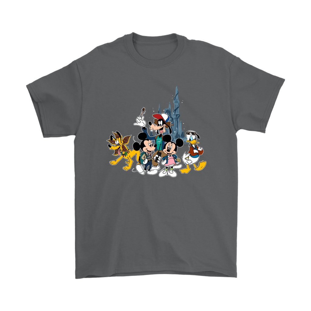 Mickey Mouse And Friends Disney Stranger Things Mashup Shirts 2