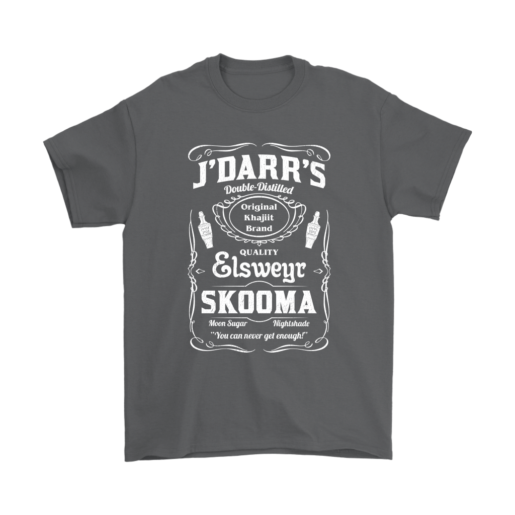 J'Darr's Double Distilled Quality Elsweyr Skooma Shirts 2