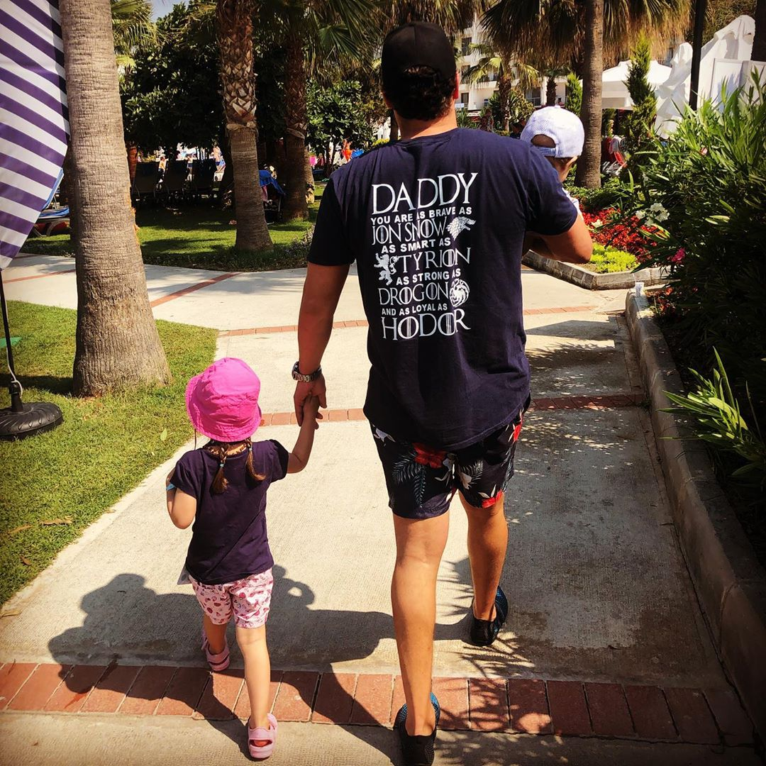 Daddy As Brave As Jon Snow Smart As Tyrion Game Of Thrones Shirts photo review