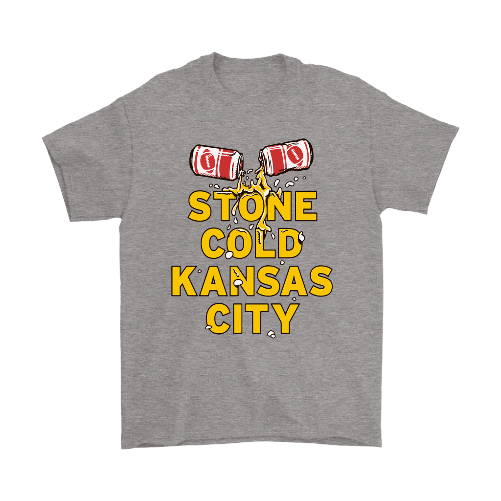 Stone Cold Kansas City Chief Football Beer Shirts 6