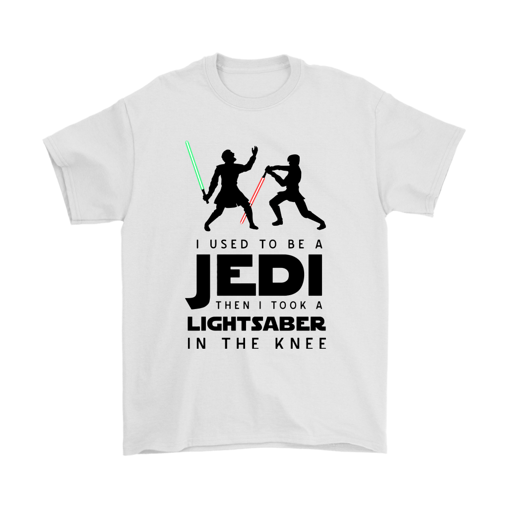 I Used To Be A Jedi Then I Took A Lightsaber In The Knee Shirts 1